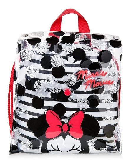 Bolsa De Playa Minnie Mouse Original De Disney Store