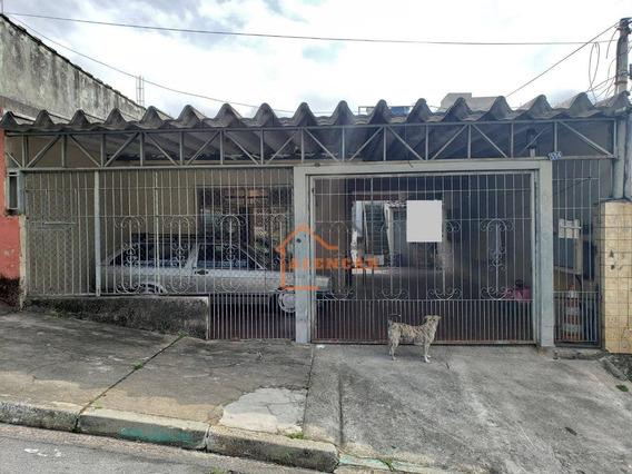 Oportunidade Imóvel Com Excelente Localização Para Renda, 3 Casas No Mesmo Quintal À Venda Por R$ 275.000,00 - Itaquera - Jardim Redil - São Paulo/sp - Ca0025