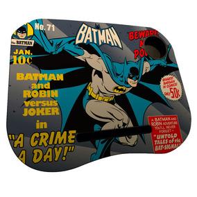 Porta Laptop Em Mdf E Plástico - Dc Comics - Batman Beware M