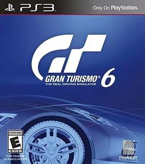 Gran Turismo 6 Ps3 Original- Play Perú