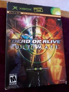 Dead Or Alive Ultimate Xbox Original No Mario Castlevania