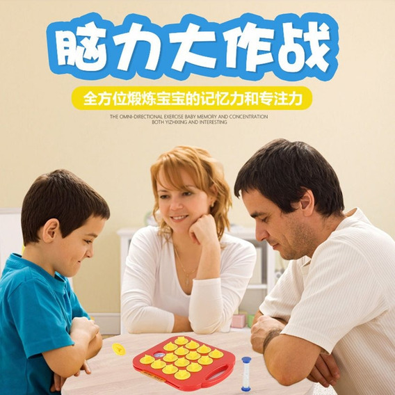 Crianças Memória Treinamento Jogo Xadrez Enigma Desenho Anim