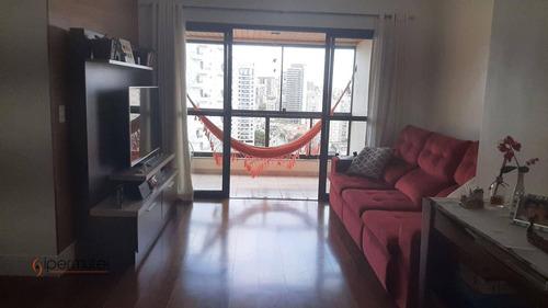 Imagem 1 de 30 de Apartamento Com 3 Dormitórios À Venda, 102 M² - Real Parque - São Paulo/sp - Ap2612
