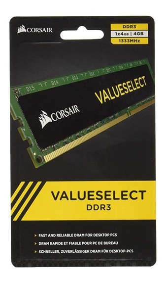 Memoria Ddr3 4gb 1333mhz Corsair