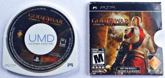 Jogo God Of War Chains Of Olympus Playstation Portable Psp