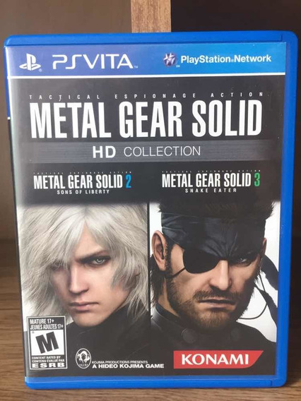 Metal Gear Hd Collection - Vita - Psvita