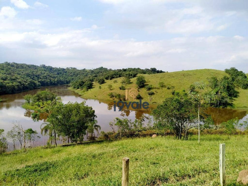 Terreno A Venda Vista Para Lago Em São Jose Dos Campos, - Te0800