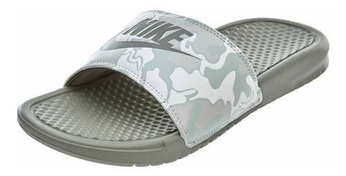 Nike Benassi Jdi Print - Camuflado Claro