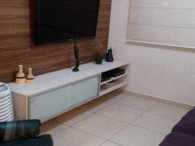 Apartamento Padrão Com 2 Dormitórios, 1 Suíte, 1 Vaga Para Vender No Bairro Parque Santana Em Mogi Das Cruzes - Imperius Imoveis - 2989