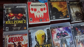 Lote 10 Juegos Para Ps3 Resistence Marvel Vs Capcom 3 Etc