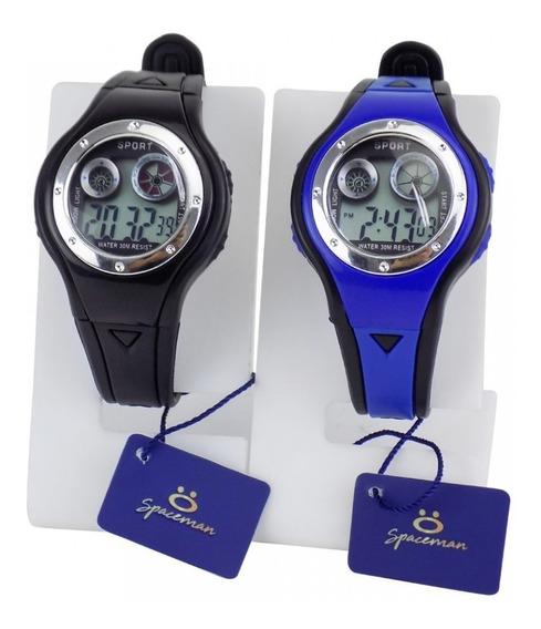 2 Relógio Infantil Masculino Esportivo Digital Prova D