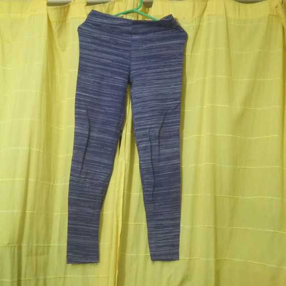 Calzas Violeta Con Líneas Talle 2 (cu0)