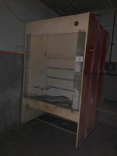 Cabina De Pintura En Polvo Desarmable Envíos Interior,video