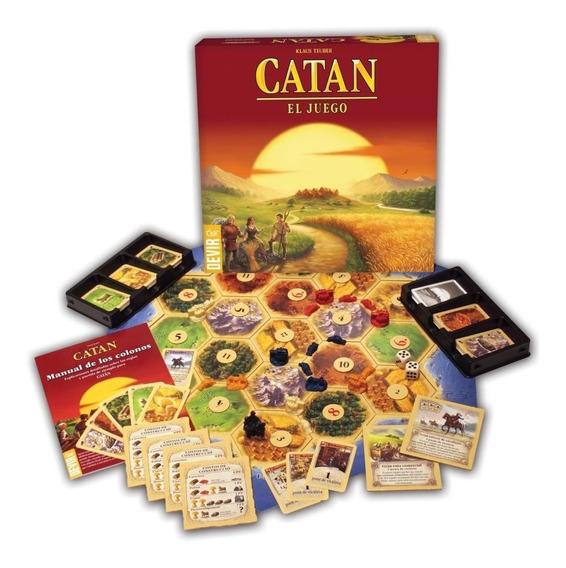 Catán Los Colonos De Catán Devir Juego Estrategia 107743