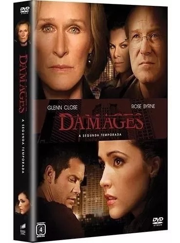 Damages 3 Dvd 2ª Temporada Novo Lacrado