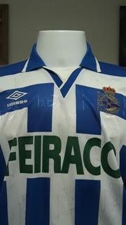 Camisa Futebol La Coruna Umbro Listrada