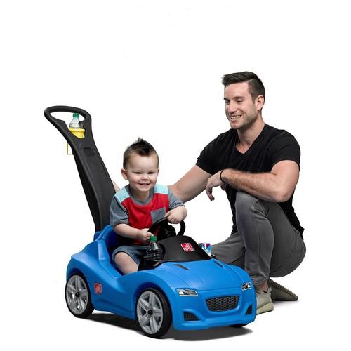 Step2 Whisper Ride Blue Carro Coche Paseador Bebe Niños