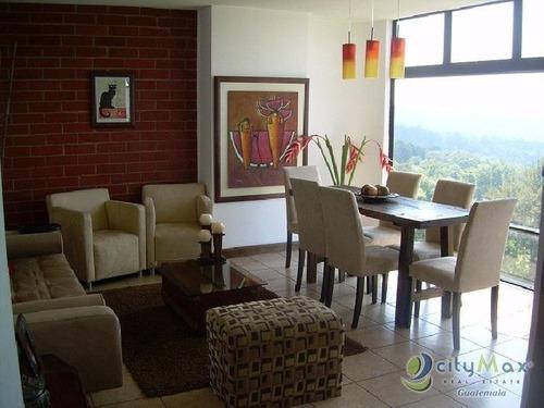 Vendo Apartamento En Zona 15 Amueblado  - Pma-073-09-10