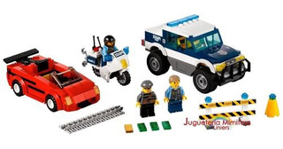 Bloques High Speed Chase Coleccion City Police Lego 60007