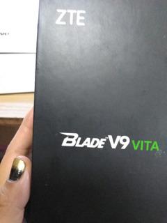 Celular Blade V9 Vita Con Funda, 16 Gb