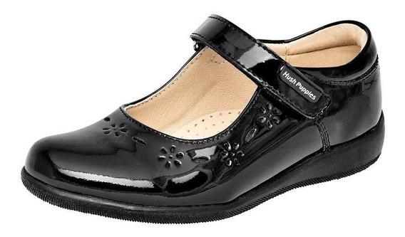 Zapato Hush Puppies Kids Hp00543 Mujer Talla 22-26 Color Neg