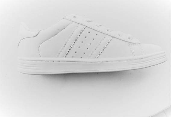 Tenis Logus Casual Branco/branco Ref 49500p 49503