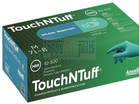 Guante De Nitrilo Descartable Ansell Mod Touch N Tuff