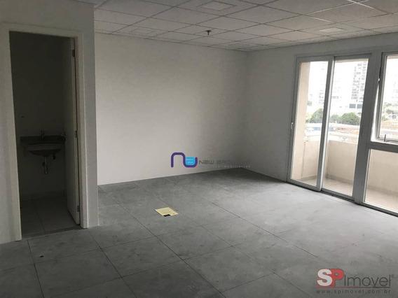 Sala Para Alugar, 103 M² Por R$ 4.500/mês - Várzea Da Barra Funda - São Paulo/sp - Sa0488