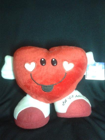 Coração Eu Te Amo 24x19 Pelúcia Lavável