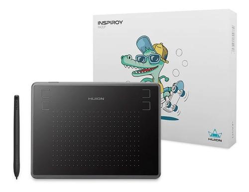 Imagen 1 de 4 de Tableta Digitalizadora Huion Inspiroy H430p Black Osu Dibujo