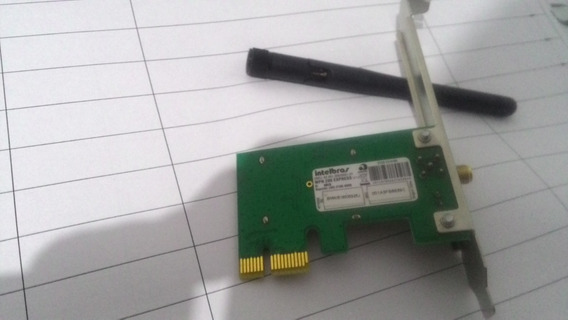 Placa Wireless N150mbps Pci-e Intelbras Wpn200 N802.11b/g/n