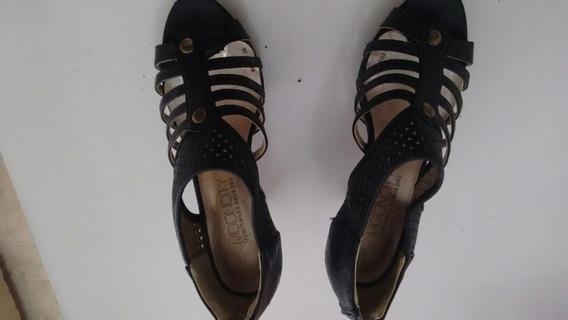 Sapato De Salto Alto Feminino Mooncity Na Cor Preto 115