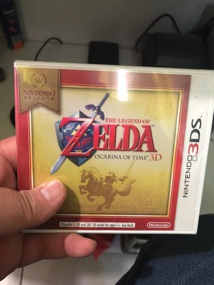 The Legend Of Zelda Ocarina Of Time Nintendo 3ds Lacrado