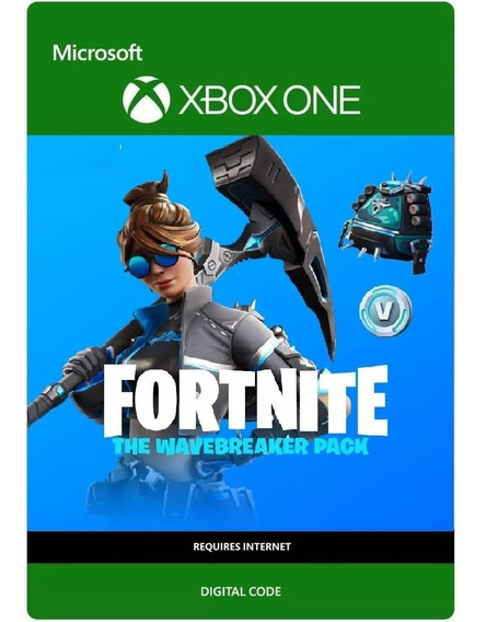 Fortnite -pacote Quebra Mar - 600 Vbucks Xbox One 25 Dígitos