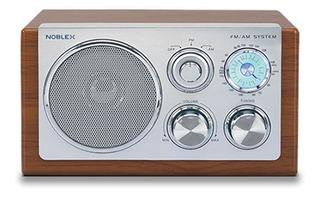Noblex Rx40m Radio Am/fm Retro Vintage Box Madera (devoto)
