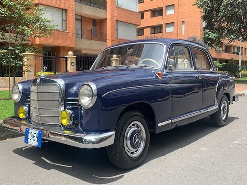 Mercedes Benz Ponton 180 C / Año 1962