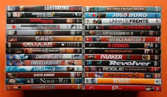 Dvd Jason Statham Coleção Contendo 28 Filmes