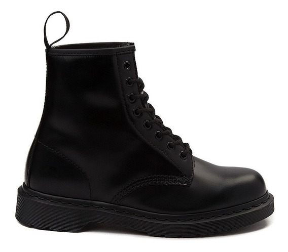 Botas Dr Martens 1460 8-eye Boot Black Suela Negra Unisex