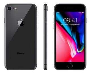 iPhone 8 256gb, Preto, Em Perfeito Estado - Capinha Inclusa