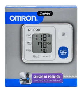 Tensiometro C/senson De Posicion Omron Hem-6123 Digital