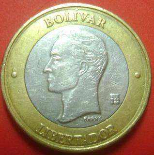 2 Moneda De 1.000 Bs 2005 Doble Cuello Difícil Bs.s 547000._