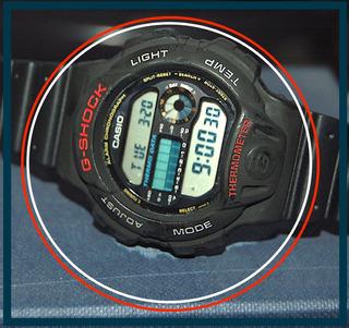Casio G-shock Dw-6100 Dw6100 Thermo Data Classic Digital