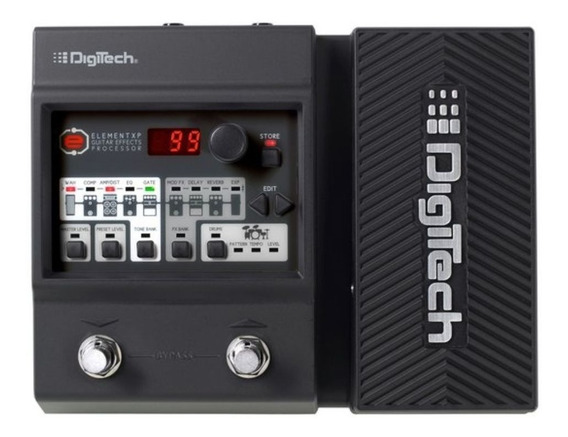Pedaleira Digitech Element Xp Guitarra + Fonte Rp90 - Loja