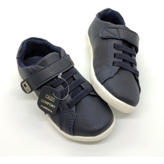 Tênis Infantil Klin Baby Flyer - Azul Marinho