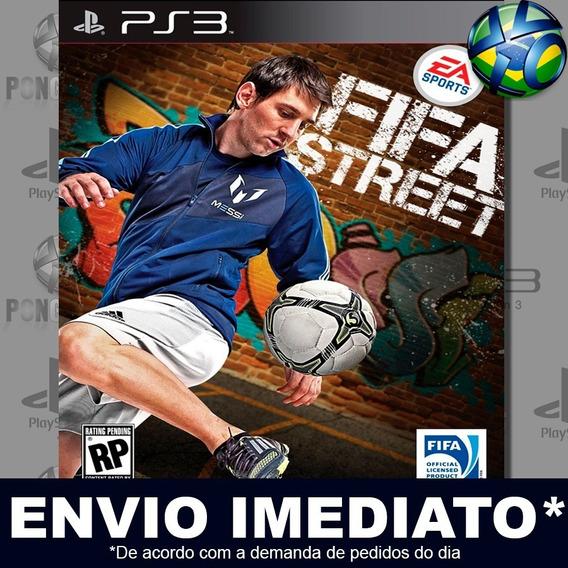Fifa Street Ea Sports Ps3 Psn Jogo Promoção Pronta Entrega