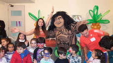 Animación De Cumpleaños Moana, Somos Lo Máximo !