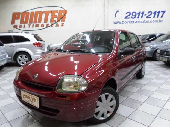 Clio Sedan Rt 1.6 Completo Aceito Troca E Financio Em 48x