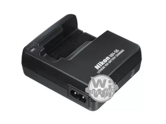 Carregador De Bateria Original Para Nikon En-el7, Mh-56
