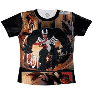 Camiseta Venom Marvel Hq
