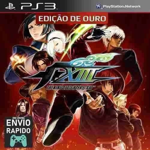 The King Of Fighters Kof 13 Xiii + Todas As Dlcs - Jogos Ps3